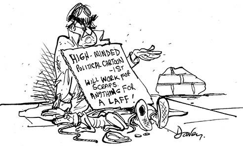 Andy Davey political cartoonist
