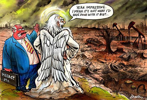 Andy Davey cartoon