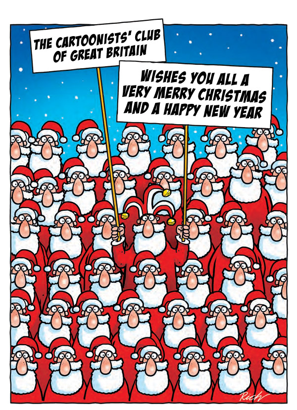 Merry Christmas from The Cartoonists Club of Great Britain