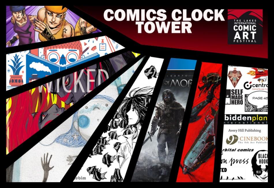 comics clock tower