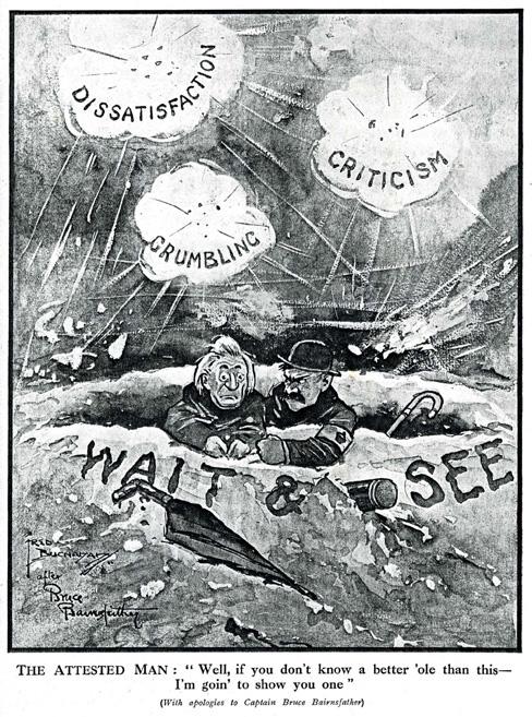 1916 better 'ole - Fred Buchanan The Bystander