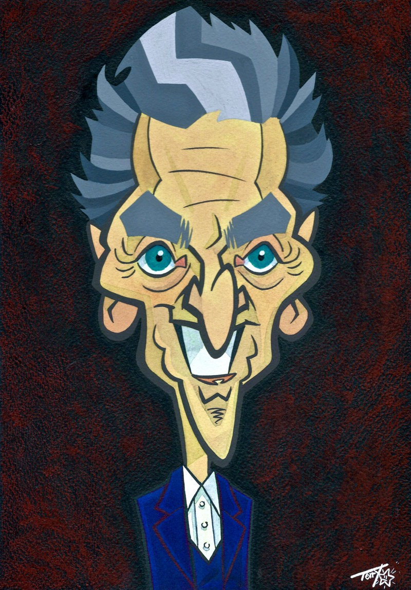 DOCTOR WHO PETER CAPALDI (Terry Anderson)