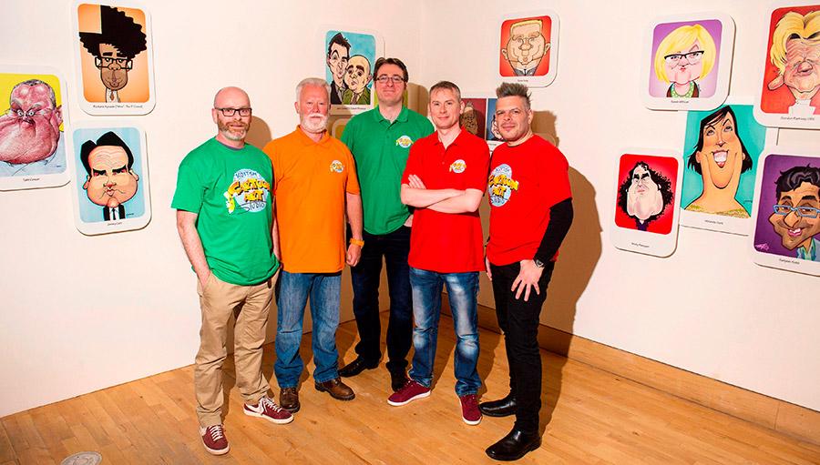 The Scottish Cartoon Art Studio
