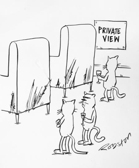 PRIVATE VIEW - Royston Robertson