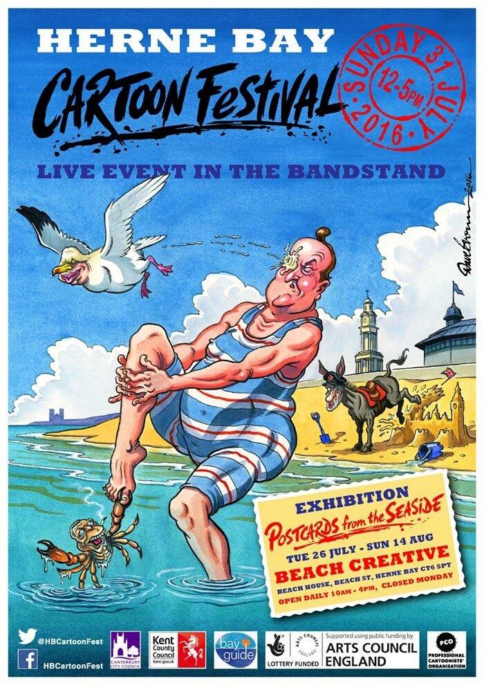 Herne Bay Cartoon Festival 2016