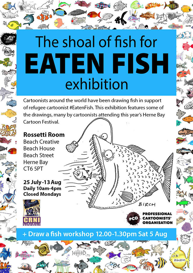Herne Bay - Eaten Fish exhibition