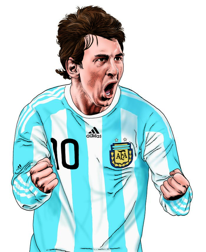 Lionel Messi by Steve McGarry