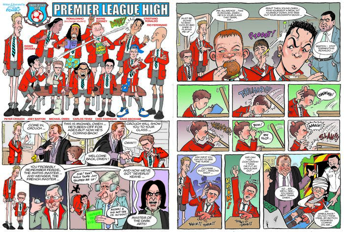 Premier League High by Steve McGarry