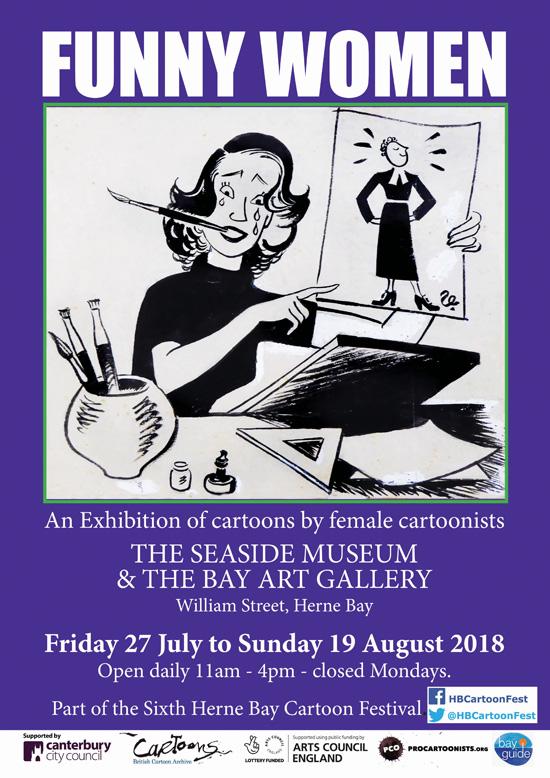 Herne Bay Cartoon Festival now on! - The Cartoonists' Club