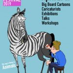 Shrewsbury Cartoon Festival 2019 poster