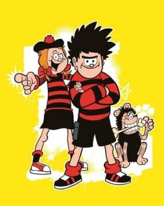 Dennis the Mennis and Gnasher