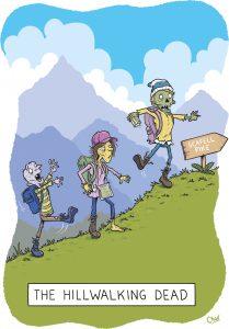 Hillwalking Dead by Simon Chadwick