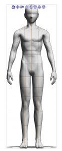 3D poseable mannequin