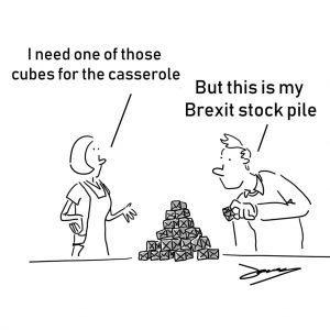 Cartoon from Brexit: A drawn-out process
