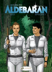Cover to Return To Aldebaran Episode 1