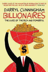Cover to Billionaires by Darryl Cunningham