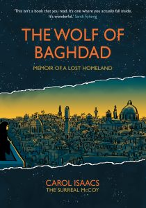Cover to Carol Isaacs The Wold Of Baghdad