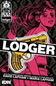 Cover to David and Maria Lapham's Lodger