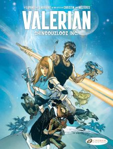 Cover to Valerian: Shingouzlooz Inc