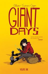 Cover to the first Giant Days collection