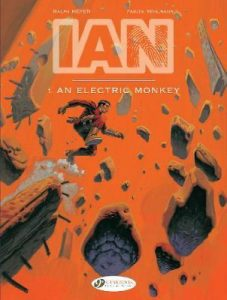 Cover to IAN 1 from Cinebook