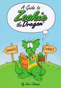 Cover to A Guide To Zookie The Dragon