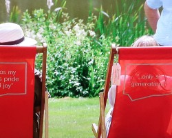 Antiques Roadshow deck Chairs - Mark Warby