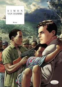 Cover to Kivu, from Cinebook