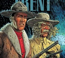 Cover to Wild Bill, the fifth Trent book