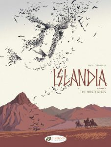 Cover to Islandia 2, the second book in the series