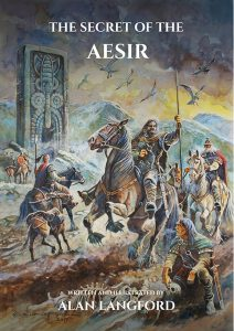 Cover to Alan Langford's The Secret Of The Aesir