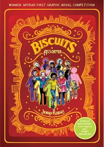 Cover to Jenny Robins Biscuits (assorted)