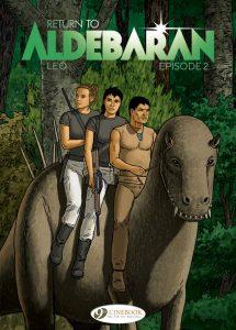 Cover to Return To Aldebaran Episode 2