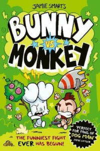 Cover to Bunny vs Monkey