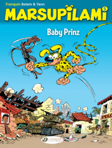 Cover to Marsupilami 5