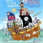 Herne Bay Cartoon Festival 2021 Poster