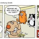 Learn to speak cat comic strip