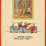 Fougasse - Careless Talk Costs Lives cartoon